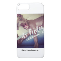 Case-Mate Barely There iPhone 7 Case with Weimaraner Phone Cases design