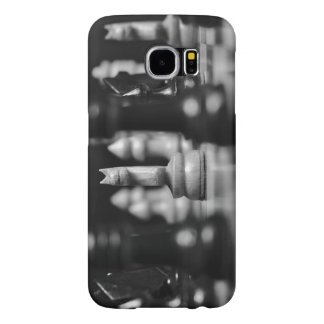 Case: Knights made of wood. Chess Samsung Galaxy S6 Case