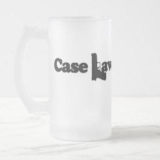 Case Law Beer Mug