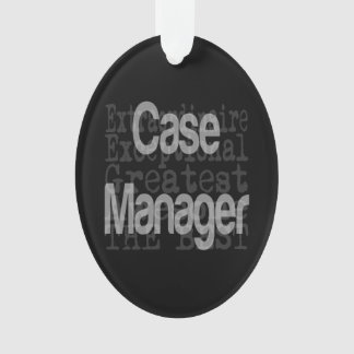 Case Manager Extraordinaire Ornament