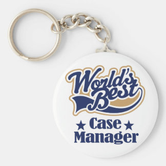 Case Manager Gift (Worlds Best) Keychain