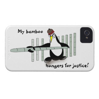 Case-Mate Barely There 4/4S Kung Fu Penguin iPhone 4 Cases