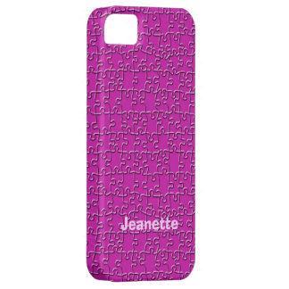 Case-Mate Barely There iPhone 5 Case, Pink Jigsaw
