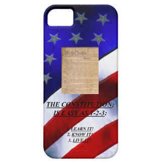 Case-Mate Barely There iphone 5 Case w/ The Consti