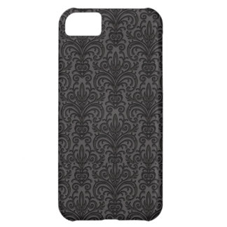 Case-Mate - Black Damask Cover For iPhone 5C