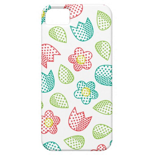 Case-Mate Case Pop Bot Ditsy White iPhone 5 Cover