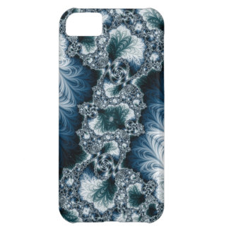 Case-Mate for iPhone 5, Teal and White Fractal iPhone 5C Case