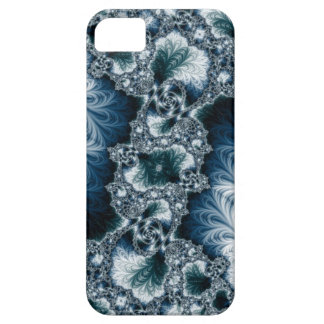 Case-Mate for iPhone 5, Teal and White Fractal iPhone 5 Cover