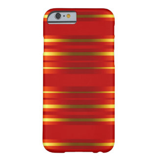 Case >Mate IPhone 6 Red Gold Luxury Barely There iPhone 6 Case