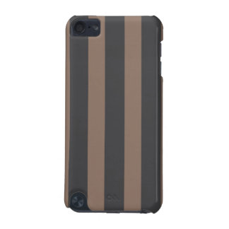 Case-Mate iPod Touch 5G Case - Taupe & Gray Stripe