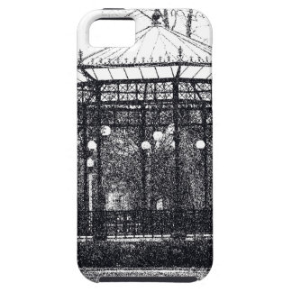 Case-Mate Tough™ iPhone4 Case w/ pen & ink drawing iPhone 5 Cases