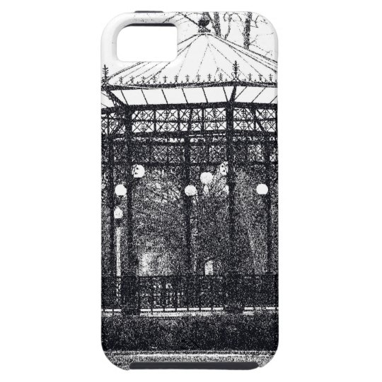 Case-Mate Tough™ iPhone4 Case w/ pen & ink drawing