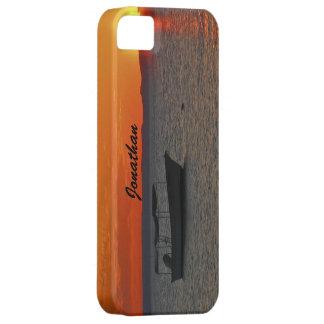 Case-Mate Vibe iPhone SE, 5 5S Fishing Boat Sunset iPhone SE/5/5s Case