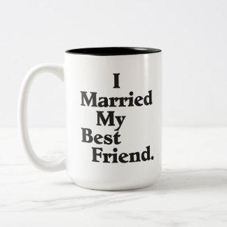 Casé mi taza personalizada mejor amigo