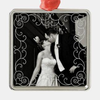Case nuevamente el ornamento de la fotografía ornamento para arbol de navidad