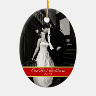 Case nuevamente el primer ornamento del navidad ornamento para arbol de navidad