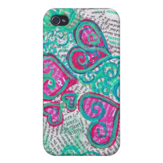 Case of Hearts iPhone 4/4S Covers