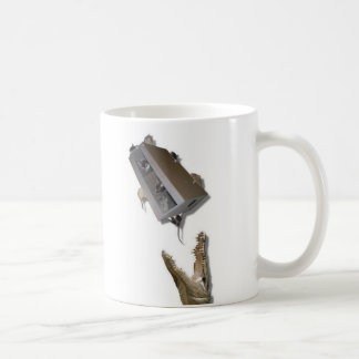 case of rats to the crocodile classic white coffee mug