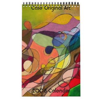 Case Original Art - 2008 Calendar