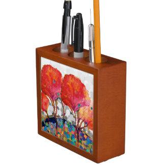 case pencil desk organizer