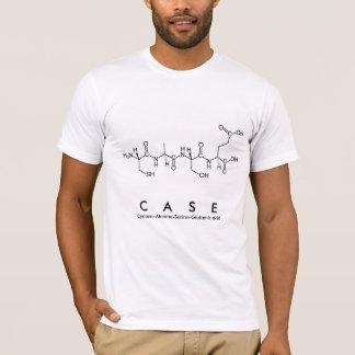 Case peptide name shirt