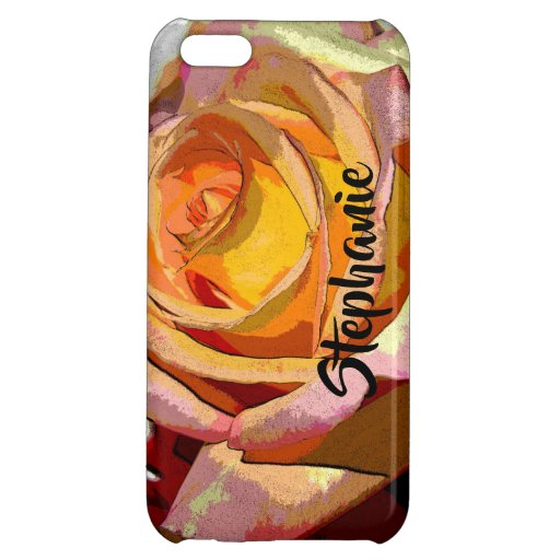 CASE PERSONALIZED iPhone 5C CASE GLOSSY FINISH