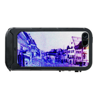 case purple german image medieval town panorama