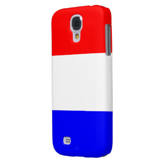 Case Samsung Galaxy S4 in Rood-Wit-Blauw