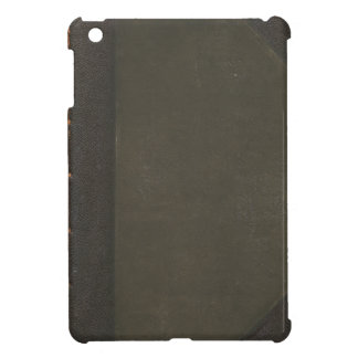 Case that looks like a leather-bound book. iPad mini cover
