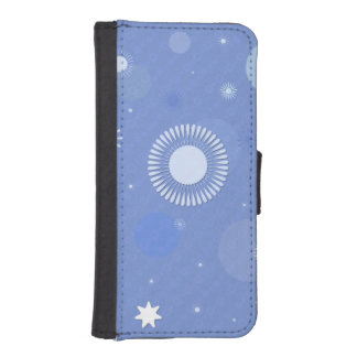 Case wallet for iphone 5/5s, blue