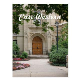 Case Western in Ohio Postcard