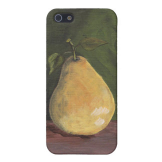 Case with tasty pear