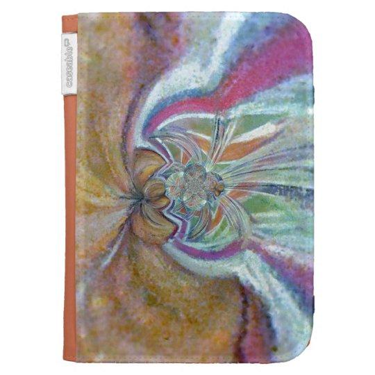 Caseable Case Crystal Angel original artwork Kindle 3G Case