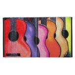 Caseable Case Multicolored guitars iPad Folio Covers