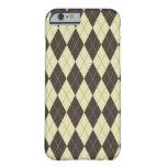 caseArgyle Brown and White Creamcase iPhone 6 Case