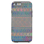 caseBeautiful cool colourful Aztec geometric patte iPhone 6 Case
