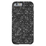 caseBlack Sequin Effect Phone Casescase iPhone 6 Case