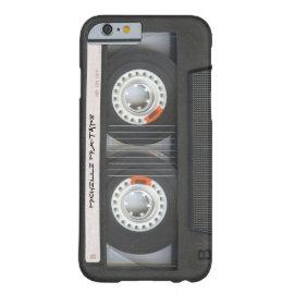 caseCustom Cassette Mixtapecase iPhone 6 Case