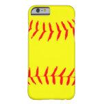 caseCustomized Softballcase iPhone 6 Case