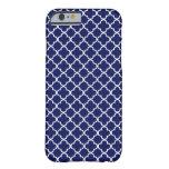 caseDark Blue Quatrefoil Patterncase iPhone 6 Case