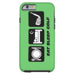 caseeat sleep golfcase iPhone 6 case