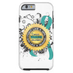 caseFight Like a Girl Ovarian Cancer 39case iPhone 6 Case