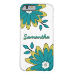 caseFunky Boho Chic Bright Floral with Personaliza iPhone 6 Case