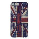 caseGrunge Retro Union Jack Love London Symbolscas iPhone 6 Case