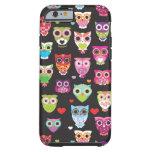 caseiPhone 6 caseiPhone 6 caseCute retro owl patte iPhone 6 Case