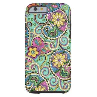 caseiPhone 6 caseiPhone 6 caseHip Happy Paisley Te iPhone 6 Case