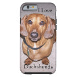 caseiPhone 6 caseiPhone 6 caseI Love DachshundsiPh iPhone 6 Case