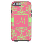 caseiPhone 6 caseiPhone 6 casePink & Green Damask  iPhone 6 Case
