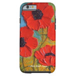 caseiPhone 6 caseiPhone 6 caseRed PoppiesiPhone 6  iPhone 6 Case