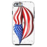 caseiPhone 6 caseiPhone 6 caseUSA Flag Lipstick on iPhone 6 Case